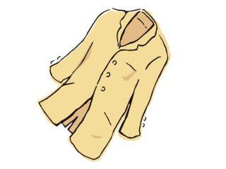 コートのイラスト
